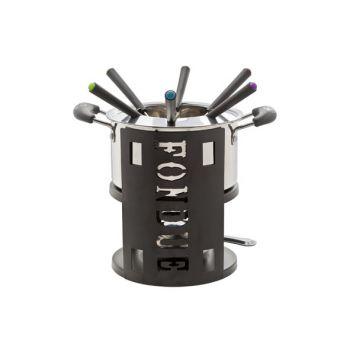 Cosy & Trendy Fondue Set 9-pcs Incl 1 Pot - 6x Fork
