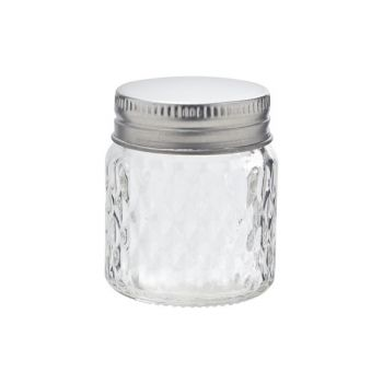 Cosy & Trendy Glass Jar With Screw Cap D5xh5.5cm Clear