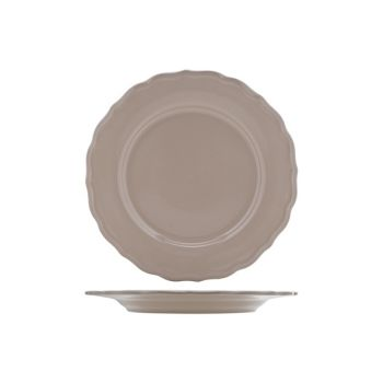 Cosy & Trendy Juliet Taupe Plate Service Bright