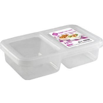 Hega Hogar Nantes Lunchbox 2comp 2.5l
