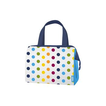 Thermos Dots And Stripes 9 Can Lunch Duffle 7.5l