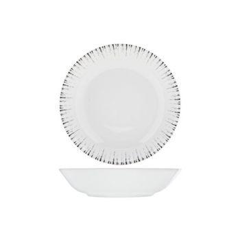 Spal Glee Black Soup Plate 76cl D21x5cm