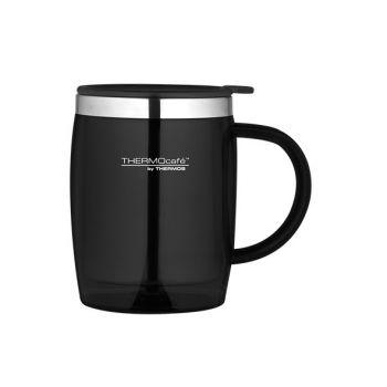 Thermos Desk Mug Schwarz 0.45l