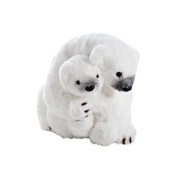 Cosy @ Home Cuddling Eisbare Weiss 28x23h22cm