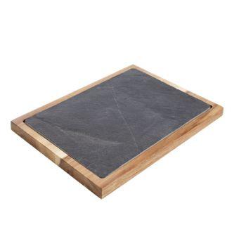 Cosy & Trendy Acacia-slate Board 35x25x2.5cm
