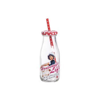 Cosy & Trendy Milk Bottle 'housewife Life' D6.5xh15c