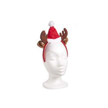 Cosy @ Home Headband Reindeer With Xmas Hat