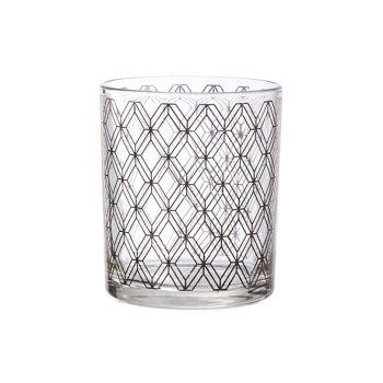 Cosy @ Home Teelichtglas Window Kupfer D9xh10cm