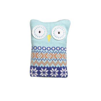 Cosy & Trendy Pillow Pitfall Owl 16x20cm