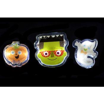 Goodmark Halloween Gel Gadget Mit Led 3 Types Faces