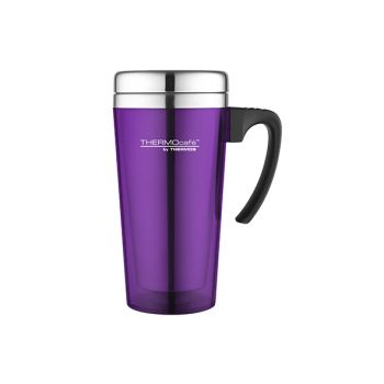Thermos Soft Touch Travel Mug Violet 420ml