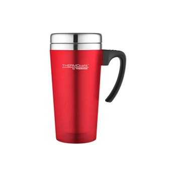 Thermos Soft Touch Travel Mug Rot 420ml
