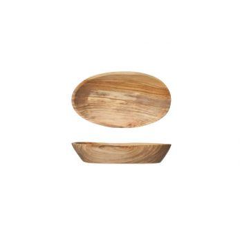 Cosy & Trendy Ovale Schale  12cm X 8-9cm Olivenholz