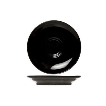 Cosy & Trendy For Professionals Barista Black Saucer D16cm