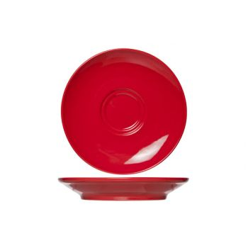 Cosy & Trendy For Professionals Barista Red Saucer D16cm