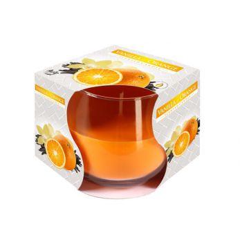 Cosy & Trendy Ct Scented Candle Glass Vanilla-orange