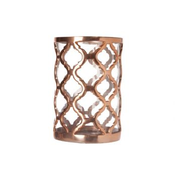 Cosy & Trendy Hurricane-aluminium-glass 24x16x16cm