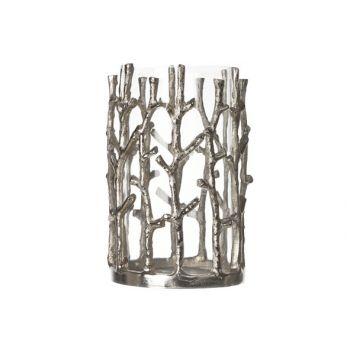 Cosy & Trendy Hurricane Aluminium-glass 20x12.5cm