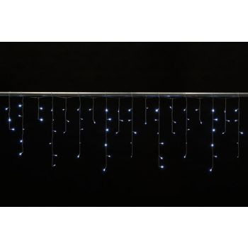 Light Creations Cascadelight Icicle 4x0.6m 144l Weiss