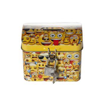Cosy & Trendy Xs Treasure Box Smileys 9x5.7xh7.6cm