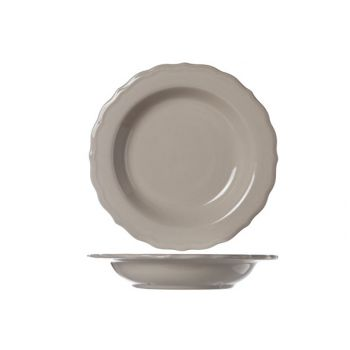 Cosy & Trendy Juliet Taupe Deep Plate Bright D23cm
