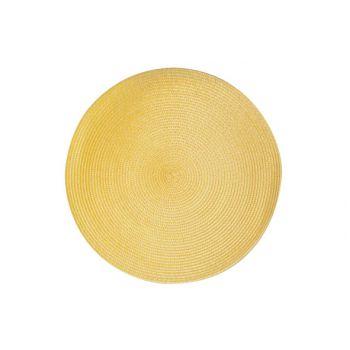 Cosy & Trendy Placemat Round Orange D36cm