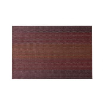 Cosy & Trendy Placemat Pvc Woven Red-orange