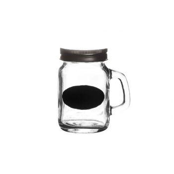 Cosy & Trendy Jar -blackboard Decal  D7.5xh8.5cm