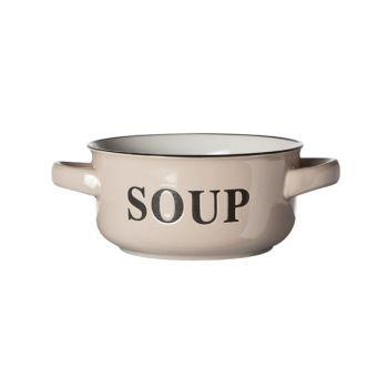 Cosy & Trendy Soup Bowl Cream D13.5xh6.5cm
