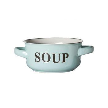 Cosy & Trendy Soup Bowl Light Blue D13.5xh6.5cm