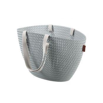 Curver Knit Emily Shopping Basket Mystiek Blauw