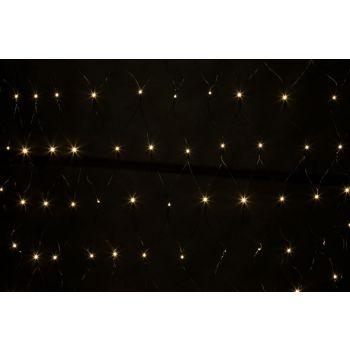 Light Creations Netlight Led 2x2m 144l Warm Weiss Steady