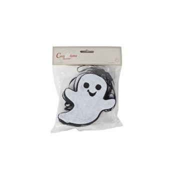 Cosy @ Home Garland Ghosts Black White Felt 12x180cm