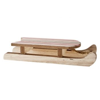 Cosy @ Home Schlehe Rosa Natur. Holz 20x6.2x4cm