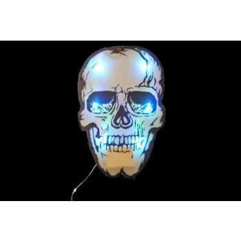 Cosy @ Home Hanging Skull W Light 33x3x50cm