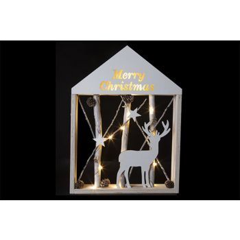 Cosy @ Home Rahmen Zweigen M.christmas Led 30x41cm