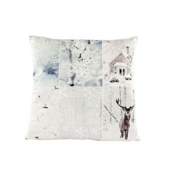 Cosy @ Home Cushion Winterdeco 45x45cm Velvet