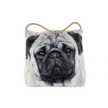 Cosy @ Home Doorstop Pug Dog 18x12x18cm Velvet