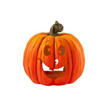 Cosy @ Home Giant Pumpkin Tl Holder 27x27x30cm
