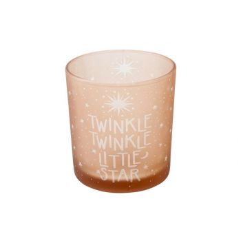 Cosy @ Home T-lighth Twinkle Twinkle Pink D7x8cm