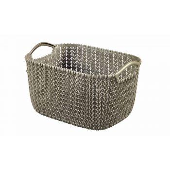 Curver Knit Basket S Rh 8l Harvest Brown