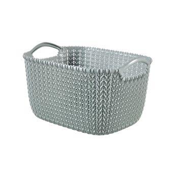 Curver Knit Basket S Rh 8l Misty Blue
