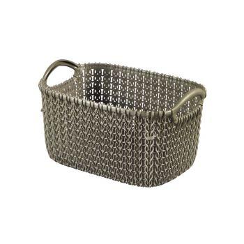Curver Knit Basket Xs Rh 3l Harvest Brown