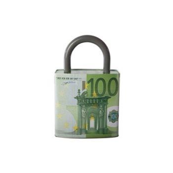Cosy & Trendy Euro Money Bank Padlock 16x8.8x24.8cm