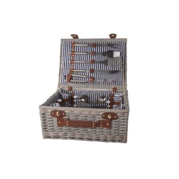 Cosy & Trendy Picnic Basket 4p - Cutlery-plates-glasse
