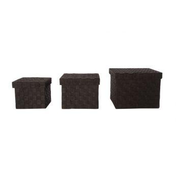 Cosy & Trendy Expert Basket Dark Brown S3 Lid Nylon