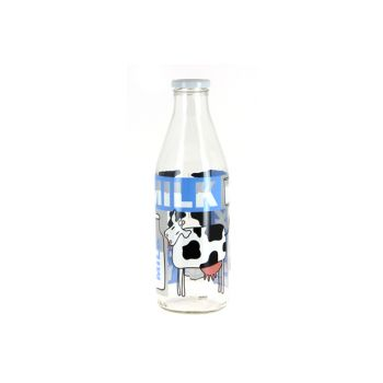 Cerve Milkbottle 1 L With Lid Dec Latte