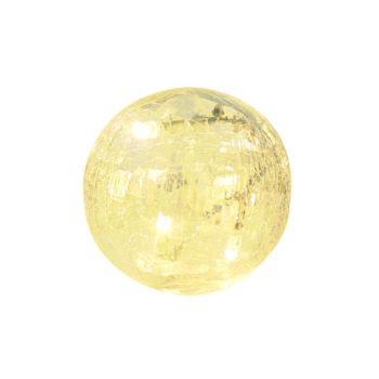Light Creations Glasslight Ball D12cm 40led Warm Weiss