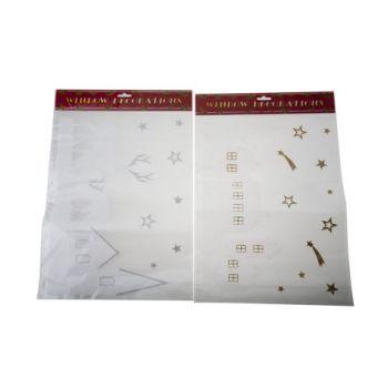 Goodmark Window Sticker Glit. 2 Types. 40x30cm