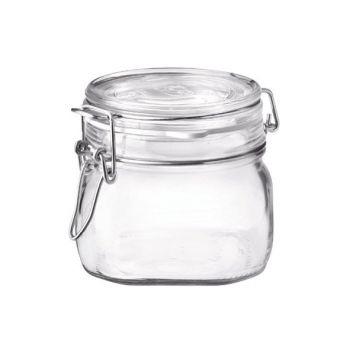 Bormioli Fido Einkochglas 500ml Set6 D10,6cm